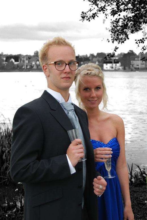 Filip och Beatrice skolbal